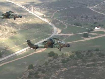Defensa gasta tres millones en enviar tres helicópteros de ataque Tigre a Afganistán
