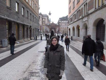Ana Álvarez Ayllón, una gaditana residente en Suecia.