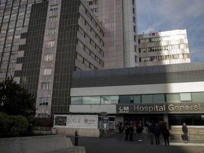 El Hospital Universitario de La Paz.