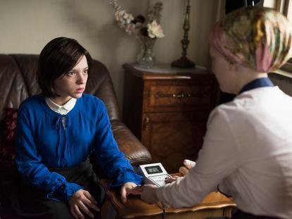 Una imagen de la miniserie de Netflix 'Unorthodox'.