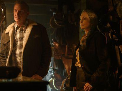 Kevin Costner y Diane Lane, en 'Uno de nosotros'.