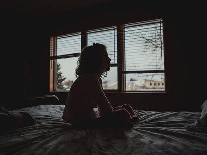 Una niña, en una imagen de archivo.
