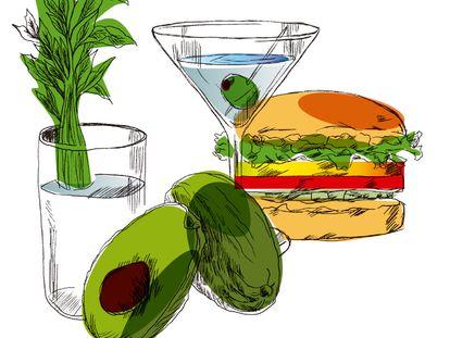 La influencia de Los Ángeles y San Francisco en lo que comemos y bebemos es evidente. El aguacate, el 'Martini cocktail' o las hamburguesas desarrolladas a partir de proteínas vegetales son algunas de las tendencias que han llegado hasta España.