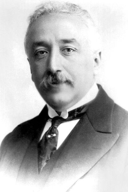 Un retrato del político republicano Niceto Alcalá-Zamora.