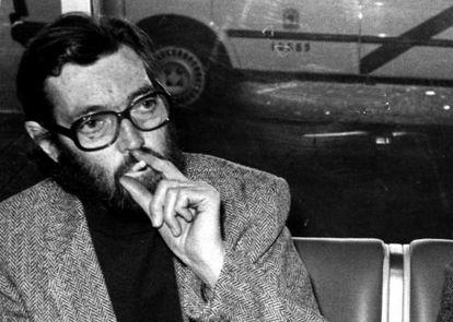Julio Cortázar, en Madrid en 1983