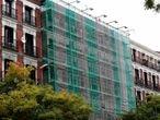 03/11/20. (DVD 1026). Un edificio en rehabilitacion en el centro de Madrid.Jaime Villanueva.