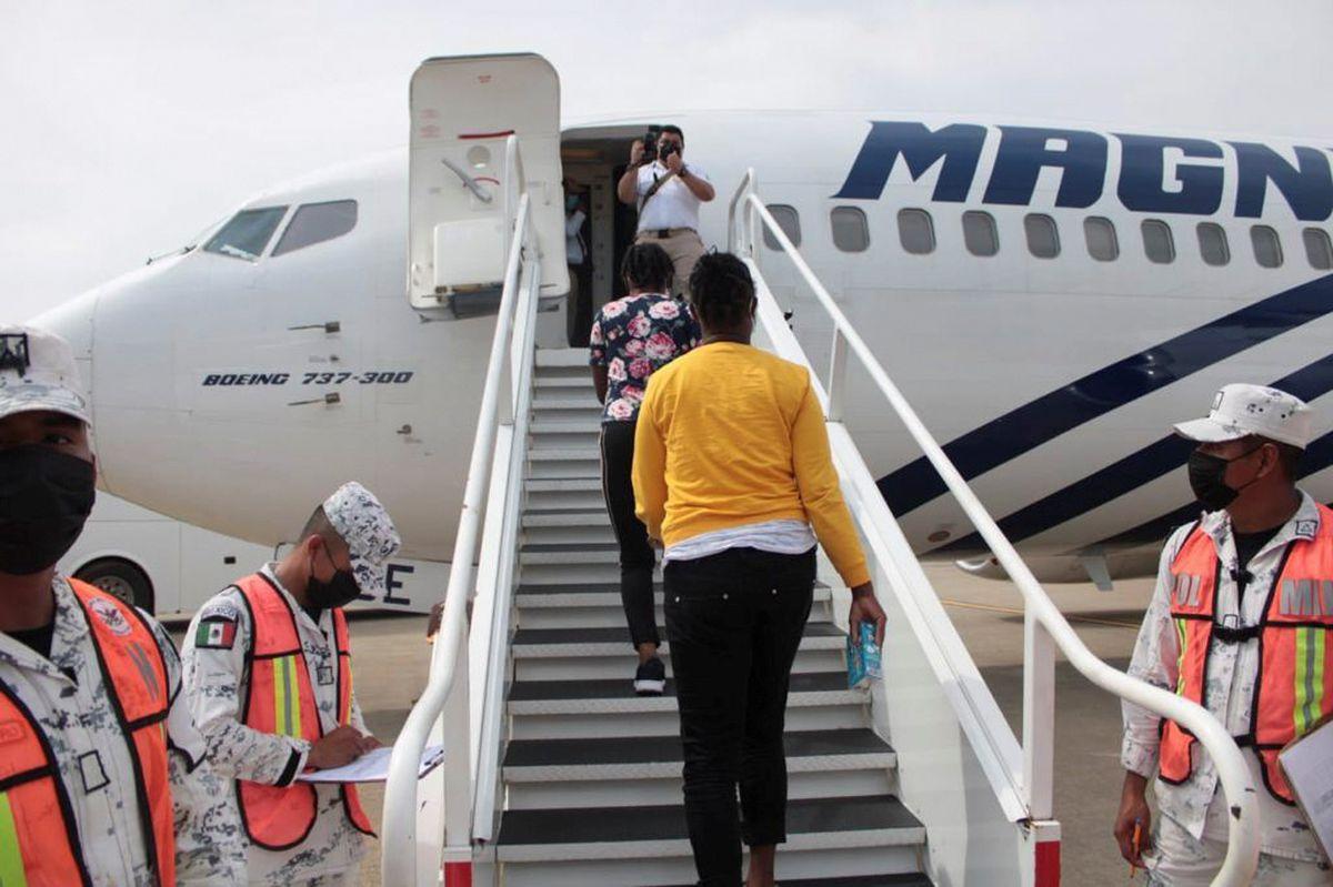 México inicia la repatriación de haitianos para afrontar la crisis en la  frontera | EL PAÍS México