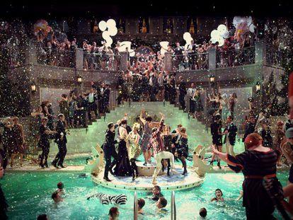 Un momento de 'El gran Gatsby' (2013).