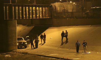 El punto fronterizo de El Paso en el que fue abatido el adolescente mexicano.