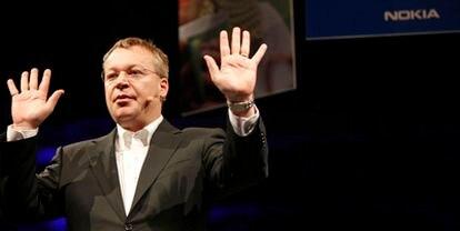 El patrón de Nokia explica los planes de la compañía de la mano de Microsoft.