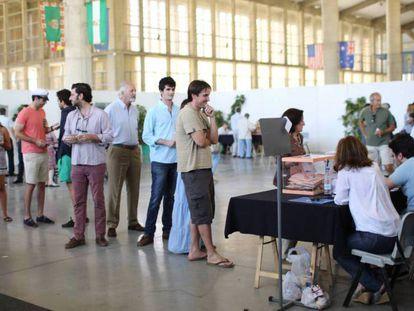 FOTO: Un colegio electoral en Jerez de la Frontera, el 26-J. VÍDEO: Declaraciones Juan Carlos Girauta e Irene Montero, portavoces de Ciudadanos y Unidos Podemos, tras reunirse en el Congreso.