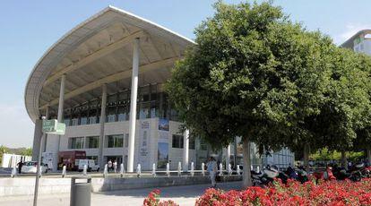 Palacio de Congresos de València.