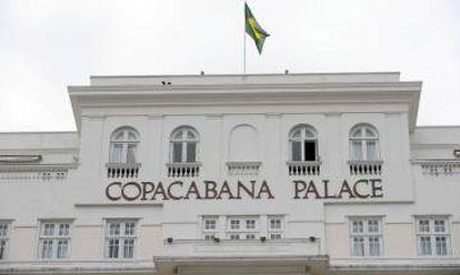 Fachada del hotel Copacabana Palace.