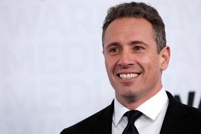 El presentador de la CNN Chris Cuomo en un evento de WarnerMedia en Nueva York.