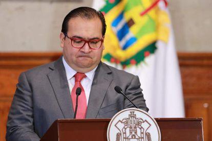 El gobernador de Veracruz Javier Duarte