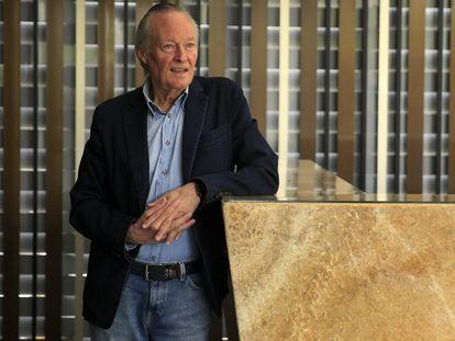 El exministro Josep Piqué, el 23 de mayo de 2018, en el hotel Eurobuilding de Madrid.