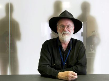 El novelista británico Terry Pratchett, en una imagen del pasado 15 de junio de 2012.