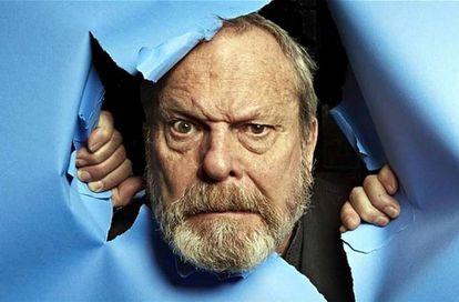 Terry Gilliam, retratado en su libro 'Gillianismos'.