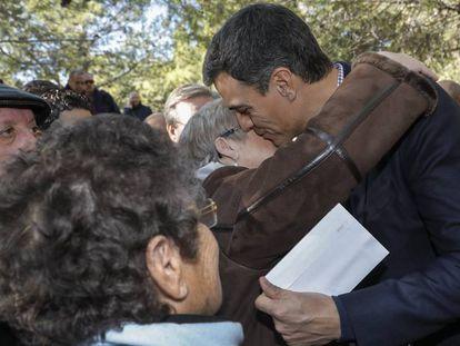 Pedro Sánchez, en un acto celebrado meses atrás en la Comunidad Valenciana.