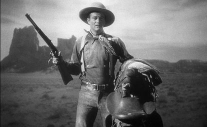 John Wayne, en 'La diligencia'.
