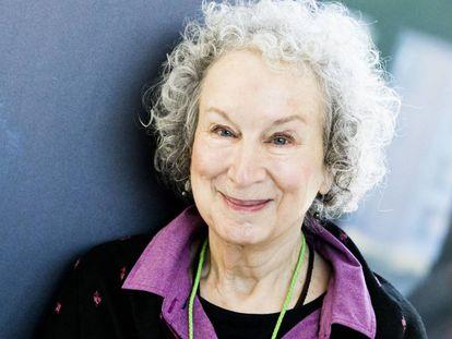 La poeta y novelista canadiense Margaret Atwood, en Milán, Italia.