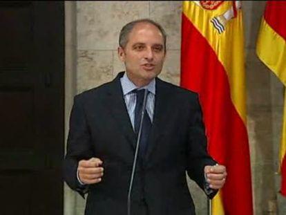 Alberto Fabra sustituye a Camps al frente del PP valenciano y de la Generalitat