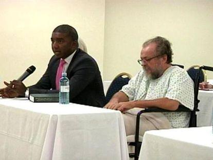 Vladimir Kokorev durante la vista de su extradición a España en Panamá, semanas antes de ser trasladado a una cárcel de Canarias.
