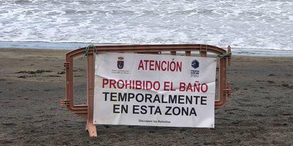 Playa en las Islas Canarias.