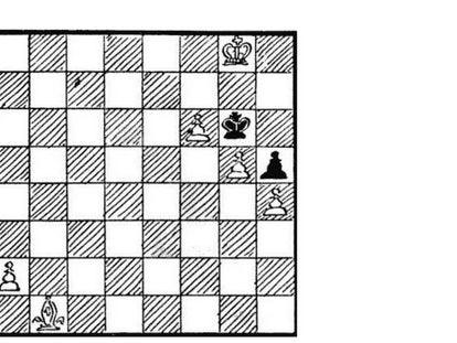 Un problema de ajedrez retrógrado de Henry Dudeney.