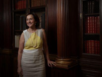 Ana Santos, directora de la Biblioteca Nacional, en 2019.