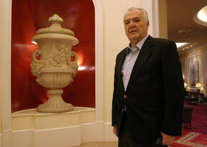 El expresidente mexicano Miguel de la Madrid, durante una entrevista en la capital española en 2004.