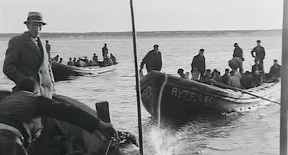 Fotograma de una de las películas de Martín Ribes (1931-1932) restaurada por la Filmoteca de Andalucía.