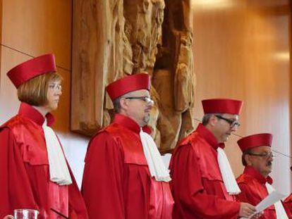 Jueces del Constitucional alemán