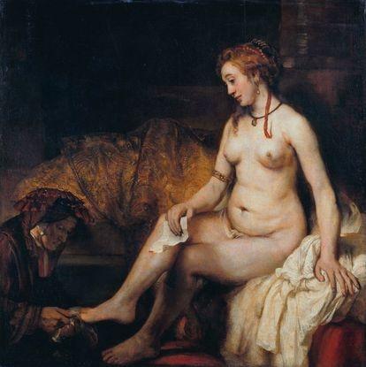 'Betsabé con la carta de David', de Rembrandt.