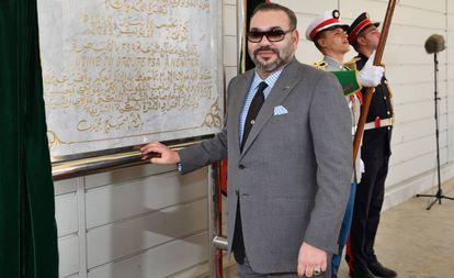 El rey de Marruecos, Mohamed VI, el pasado junio.