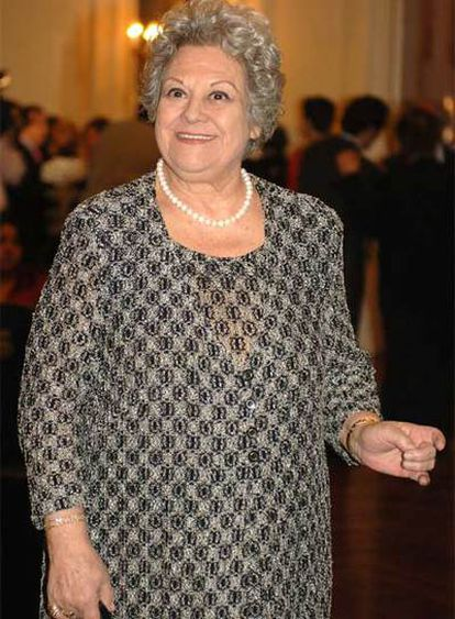 Emma Penella, en una imagen de 2005.
