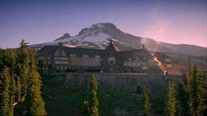 Los exteriores del iconico hotel.