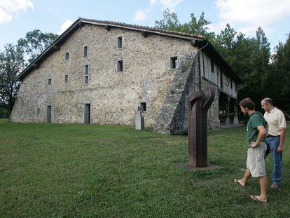 Jardín y Museo de Chillida-Leku, en Hernani.