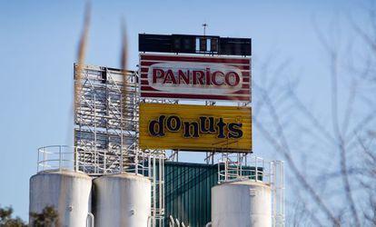 La planta de Panrico en Santa Perpetua de Mogoda (Barcelona).