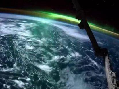 Las imágenes han sido publicadas en la cuenta de Twitter de un astronauta de la NASA