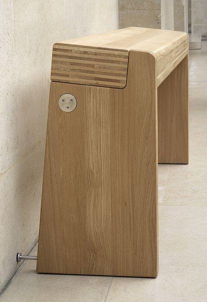 Uno de los nuevos asientos del Louvre diseñado por Szekely.