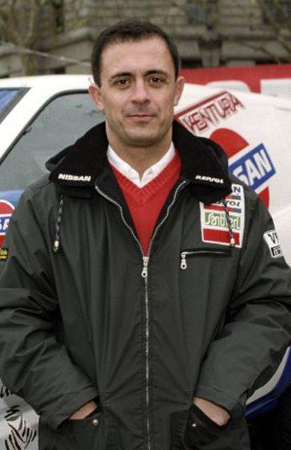 Jordi Pujol Ferrusola en 1997 en un rally.