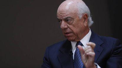 Francisco González, durante su intervención en el Forbes Summit.