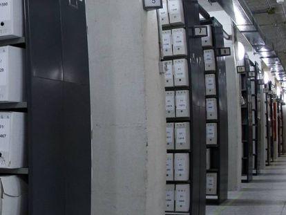 Archivo General de la Administración en Alcalá de Henares (Madrid).