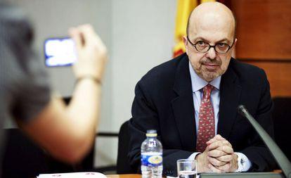En la imagen, el ex director general de Radio Televisión Castilla-La Mancha (RTVCM) Nacho Villa. EFE/Archivo