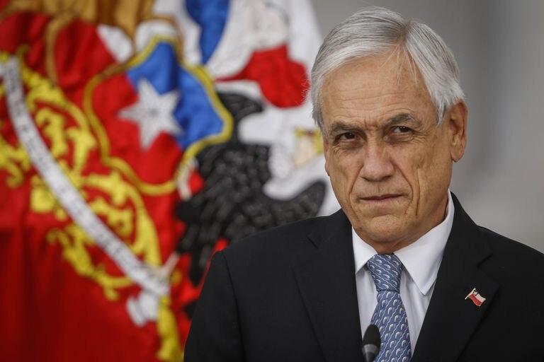 El presidente de Chile, Sebastián Piñera, en un acto público celebrado el 13 de marzo.