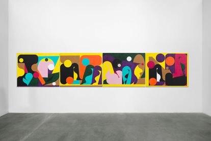 Obra de AD MINOLITI en la galería Agustina Ferreyra