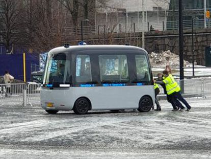 Helsinki intenta incorporarse a la carrera de los nuevos vehículos de transporte colectivo sin conductor
