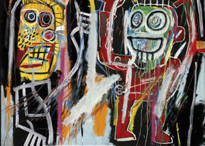 'Dustheads', de Jean-Michel Basquiat.