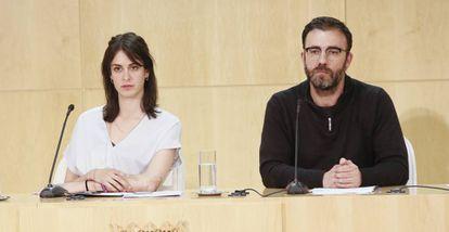 Nacho Murgui, en rueda de prensa en el Ayuntamiento de Madrid.